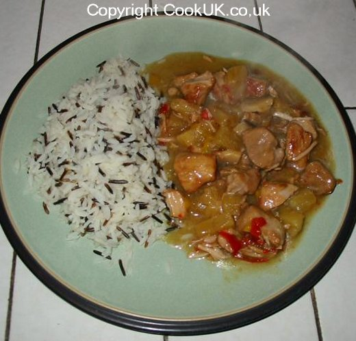 Hawaiian Pork Casserole Made In The Slow Cooker Easy To
