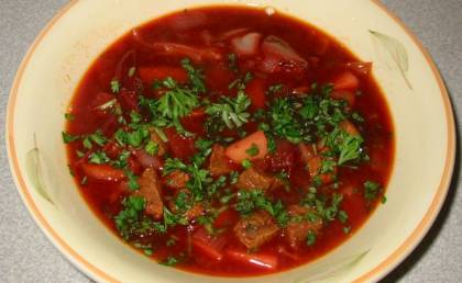 Russian Borsch Recipe With Pictures Cookuk Recipes