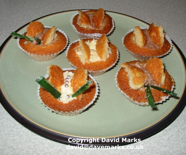 Butterfly Cakes Recipe