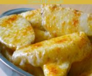 Cheesy Oven Cooked Chips