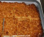 Cooked flapjacks
