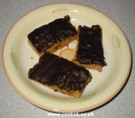 Cooked chocolate flapjacks