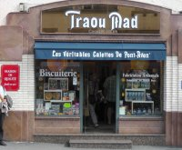 Traou Mad shop in Pont-Aven