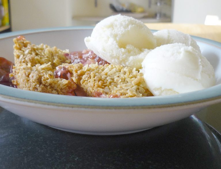 Gooseberry Crumble Recipe - CookUK