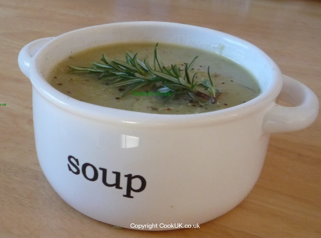 Leek And Potato Soup In A Bowl Click Picture To Enlarge