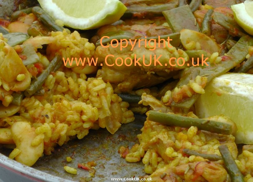 region of Spain and a Paella Valenciana is the original form of paella ...
