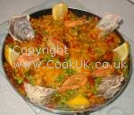 Traditional Paella Recipe. Click picture to enlarge
