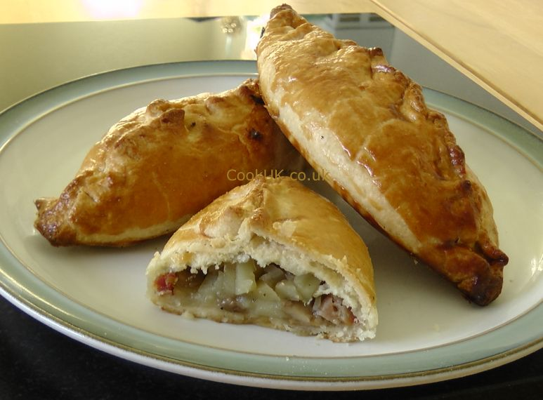 Beef and pork pasty recipe