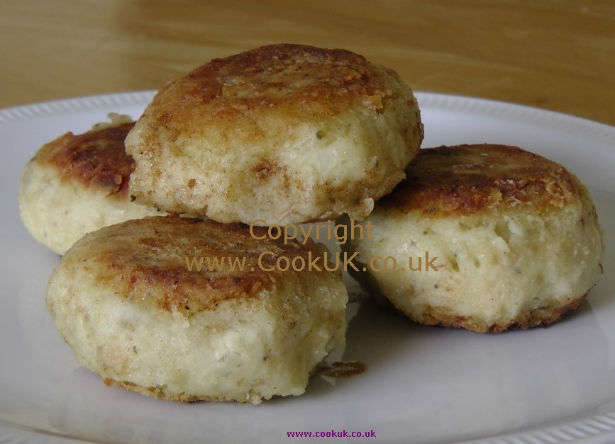 Potato Cakes Recipe - CookUK Recipes