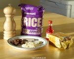 Ingredients for cooking the rice