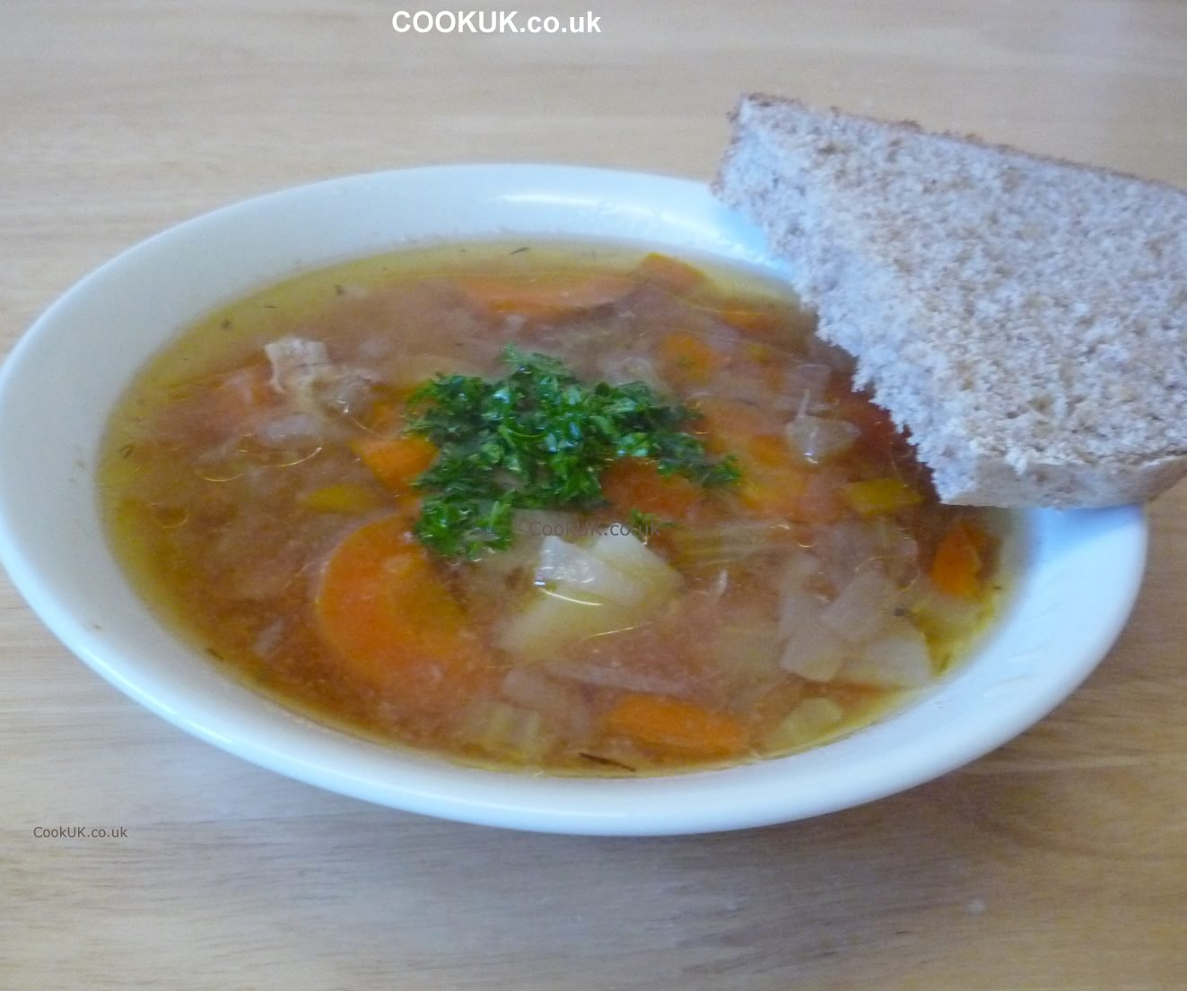 Slow Cooker Chicken And Vegetable Soup Recipe