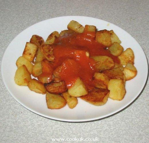 Patatas Bravas Sauce patatas bravas recipe, a spanish tapa